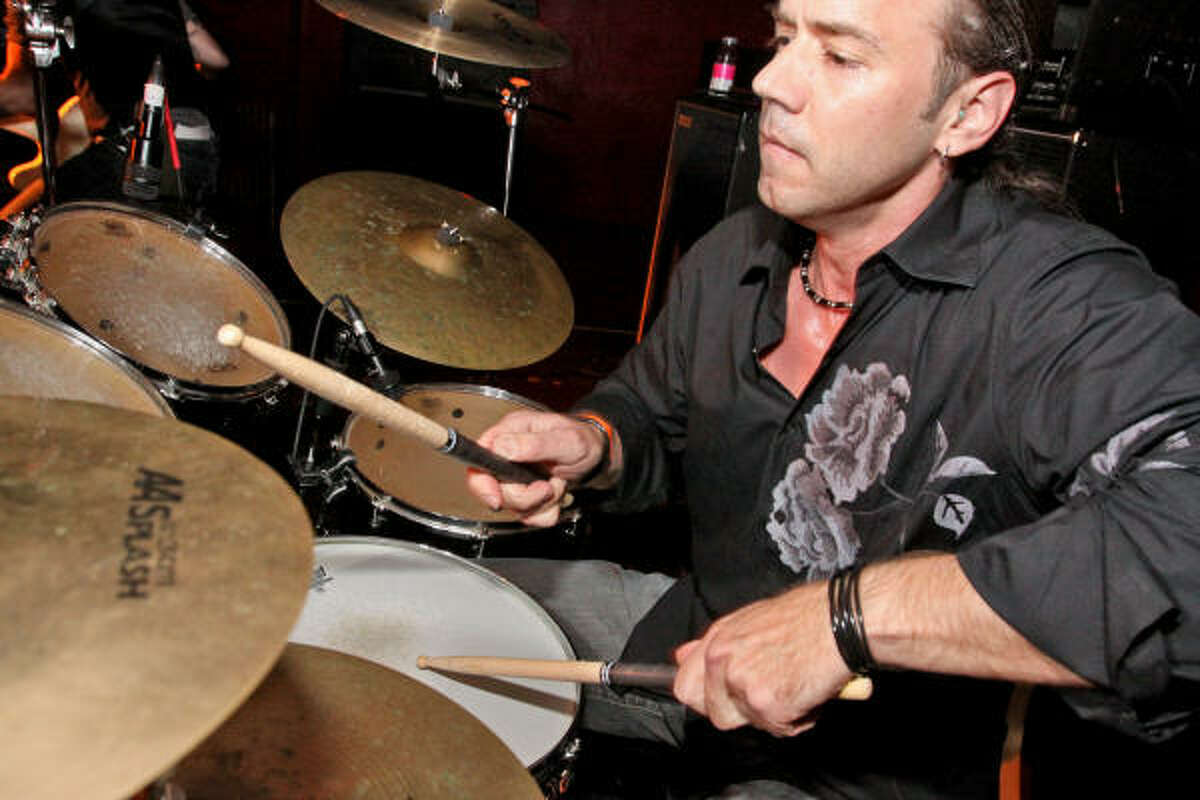 Drummer John Feldmann says he tries to bring classical and jazz sensibilities to his music.