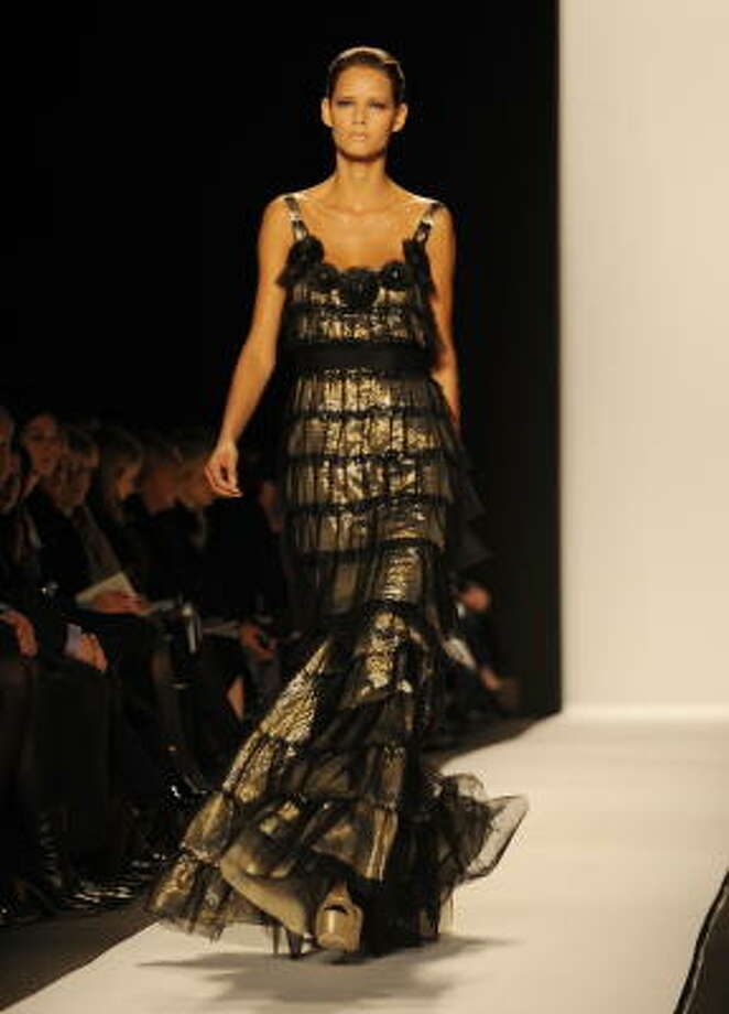 Badgley Mischka Photo: STAN HONDA, AFP/Getty Images