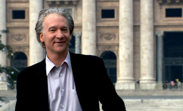 """Religulous"" -- Bill Maher's take on religion offers something for the religiously disinclined looking for some holiday self-righteousness to call their own  Photo: AP"