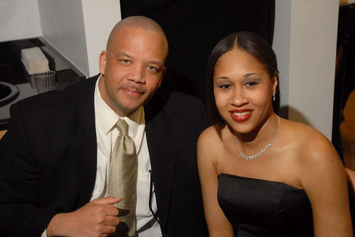 Chris Perkins and Katina Eames