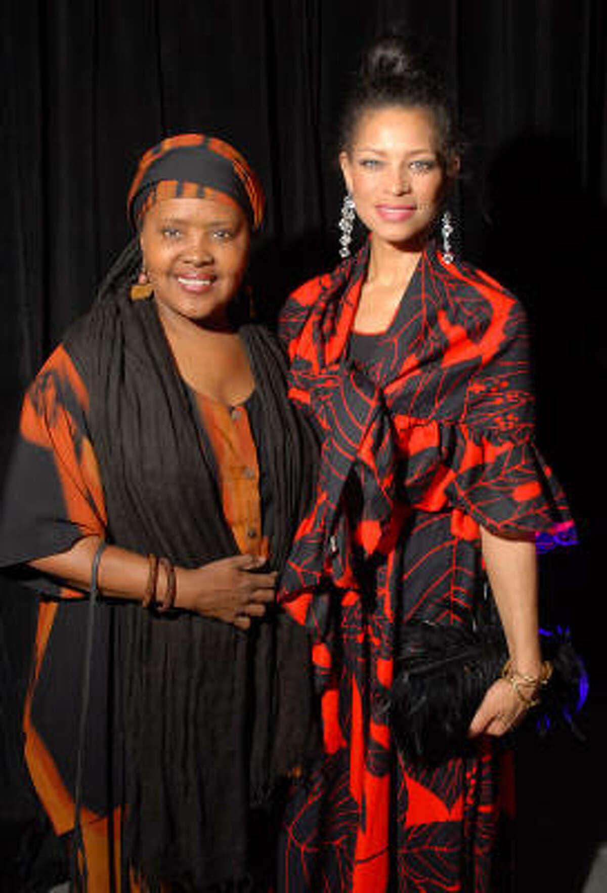 Theola Petteway and Zoe Jackson-Jarra