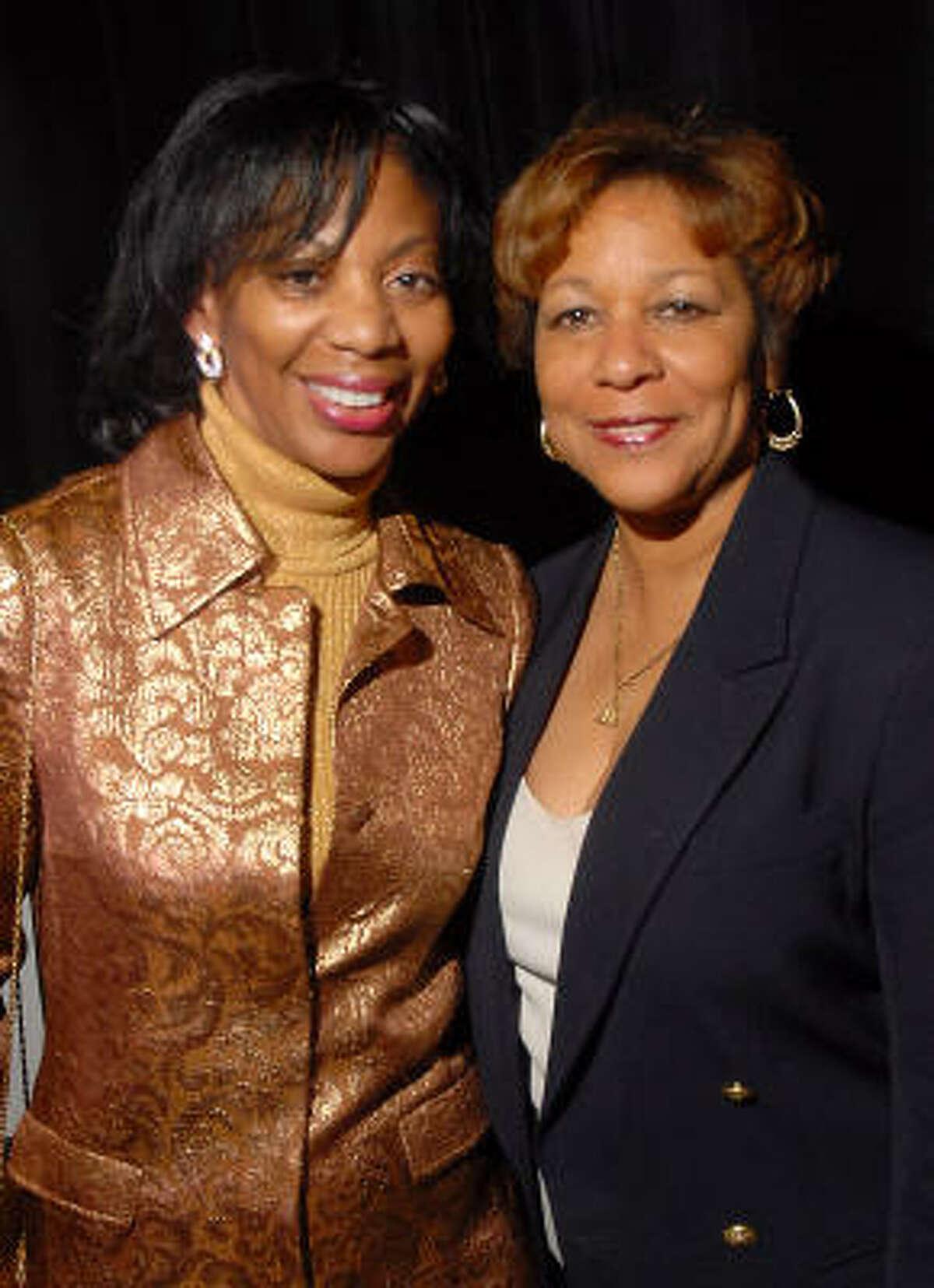 Debbie Tyler Dillard and Davetta Mills Daniels