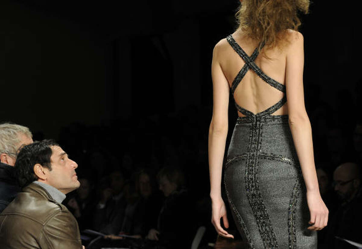 The fall 2009 collection of Herve Leger by Max Azria