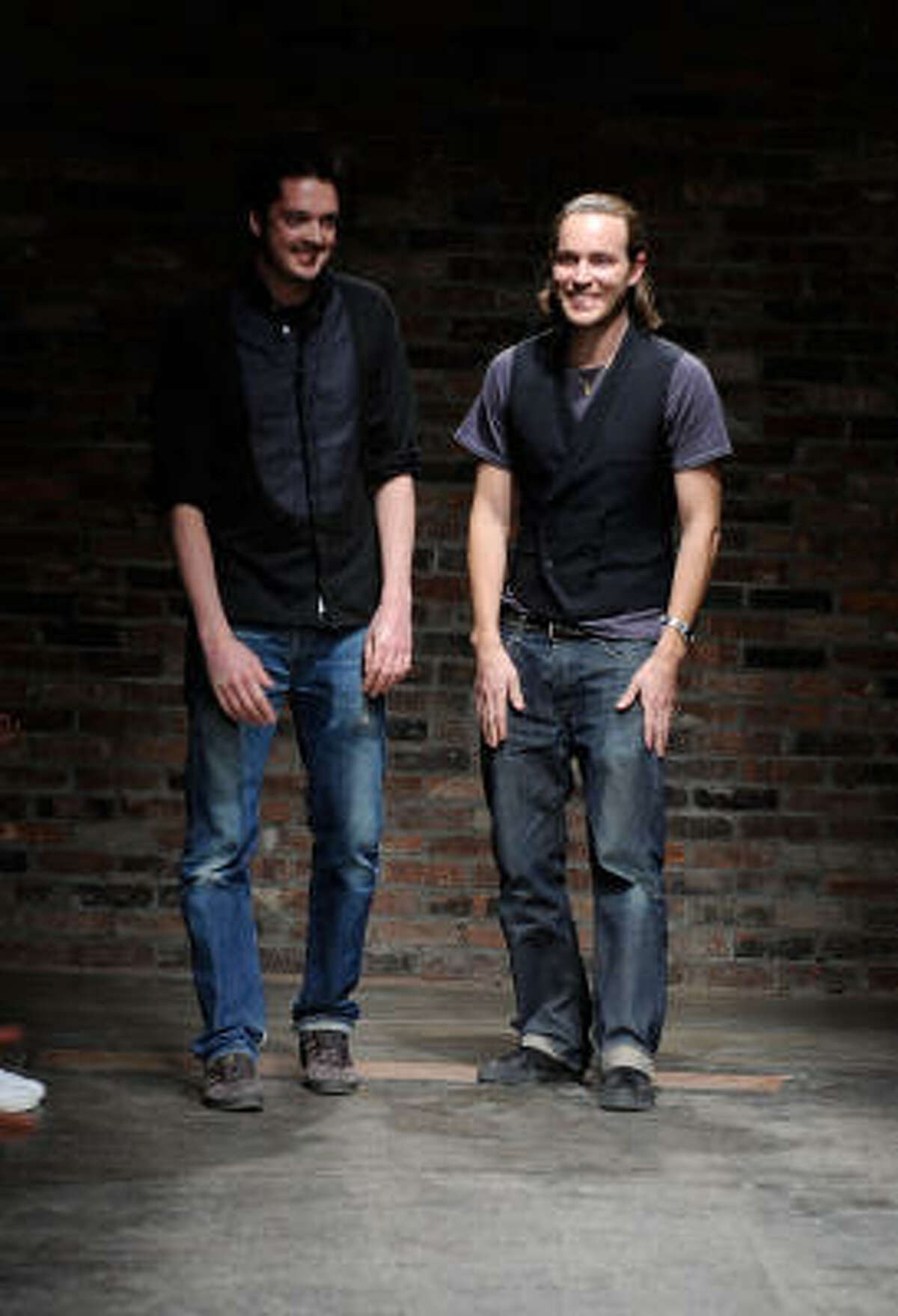 Designers Marcus Wainwright and David Neville