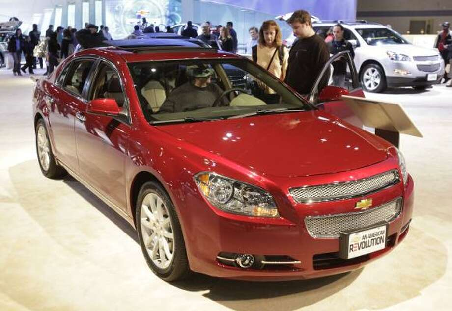 Chevrolet Malibu (2009-12, 4-cyl.)Starting at: $8,125Source: Consumer Reports Photo: Charles Rex Arbogast, AP