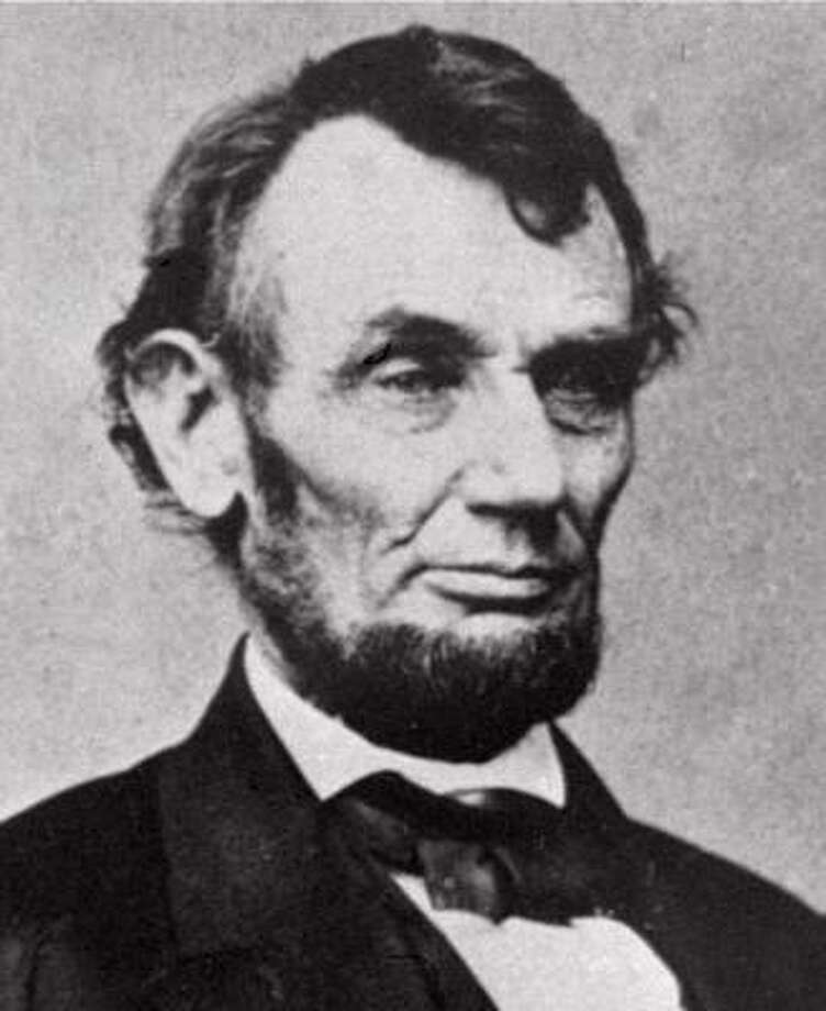 1. Abraham Lincoln, president from 1861-1865 Photo: AP