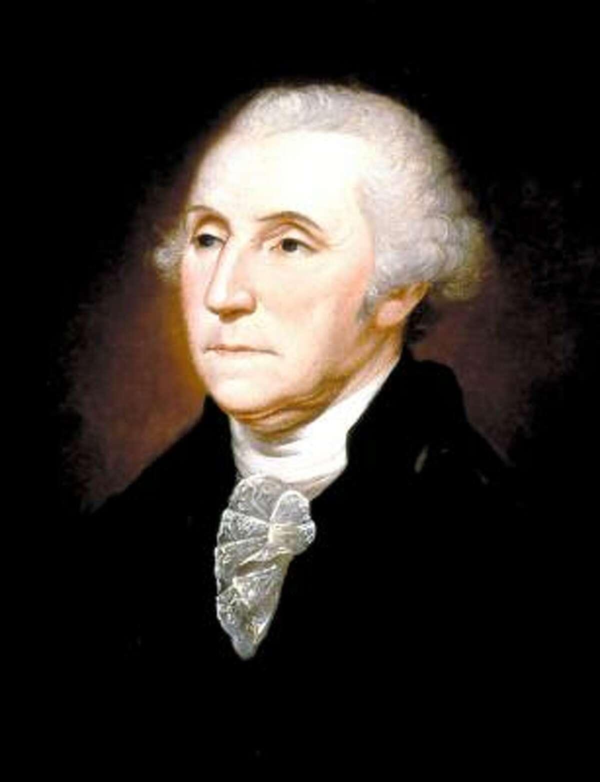 2. George Washington , president from 1789-1797