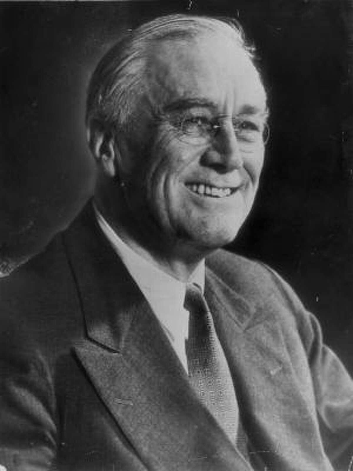3. Franklin Delano Roosevelt , president from 1933-1945