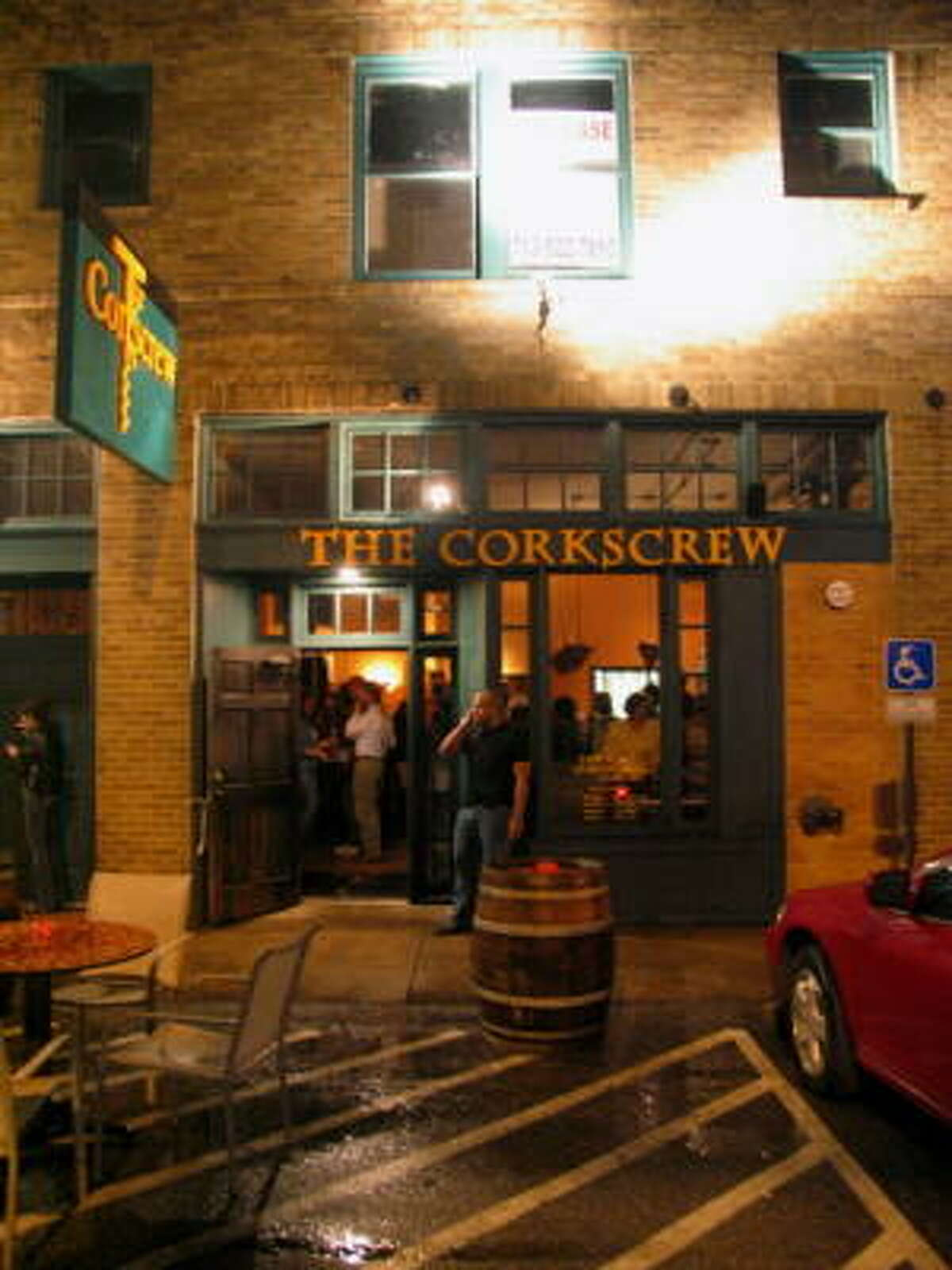 The Corkscrew hosted an Anti-Valentine's Day party with an 80s theme on Saturday night. The low-key event consisted of some singles, some couples and plenty of wine. The Corkscrew is located at 1919 Washington.