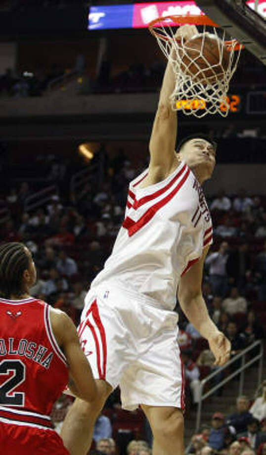 WESTERN CONFERENCEHouston Rockets center Yao Ming will start. Photo: Brett Coomer, Chronicle