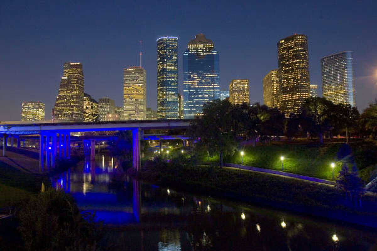 1. Houston, as a city, often feels random - which is to say undefined, unpredictable, hard to grasp.