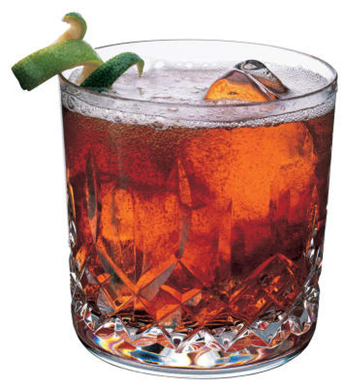 Rum and coke: 369 calories per 12-ounce serving Source: Family Circle