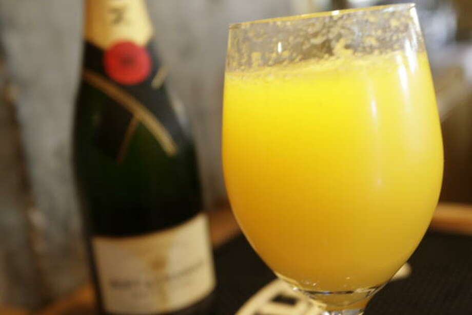 Mimosa: 137 calories per servingSource: thedailyplate.com Photo: Julio Cortez, Houston Chronicle