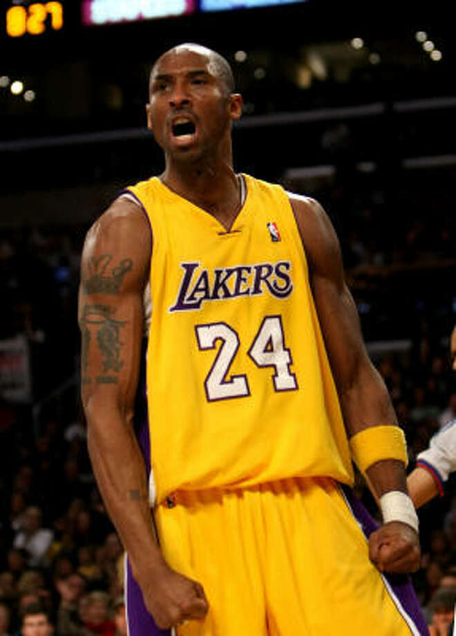 1 - LOS ANGELES LAKERS - (Last wk: 2) - 42-10 - Most teams would have been so happy with the win at Boston to have turned around and bowed to the hostile crowd in Cleveland. But the Lakers were still hungry and even with Kobe Bryant ailing had enough to devour the Cavs' perfect home court record. Photo: Stephen Dunn, Getty Images