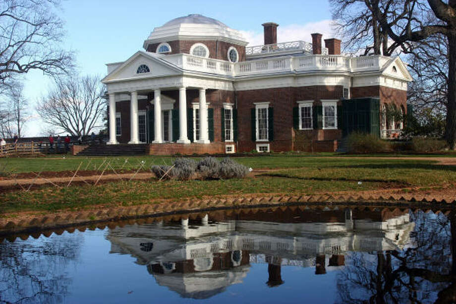 Monticello, the mansion designed by Thomas Jefferson marks the end of the Journey Through Hallowed Ground route. Photo: Tom Uhlenbrock, MCT