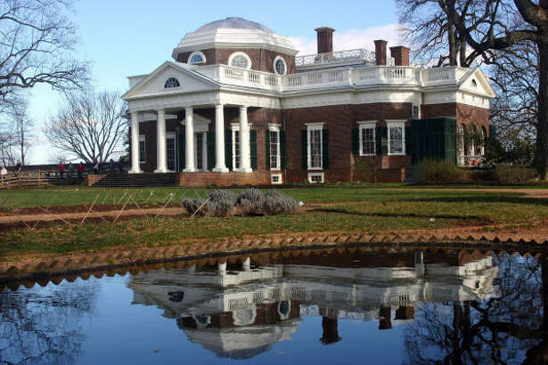 Monticello, the mansion designed by Thomas Jefferson marks the end of the Journey Through Hallowed Ground route.