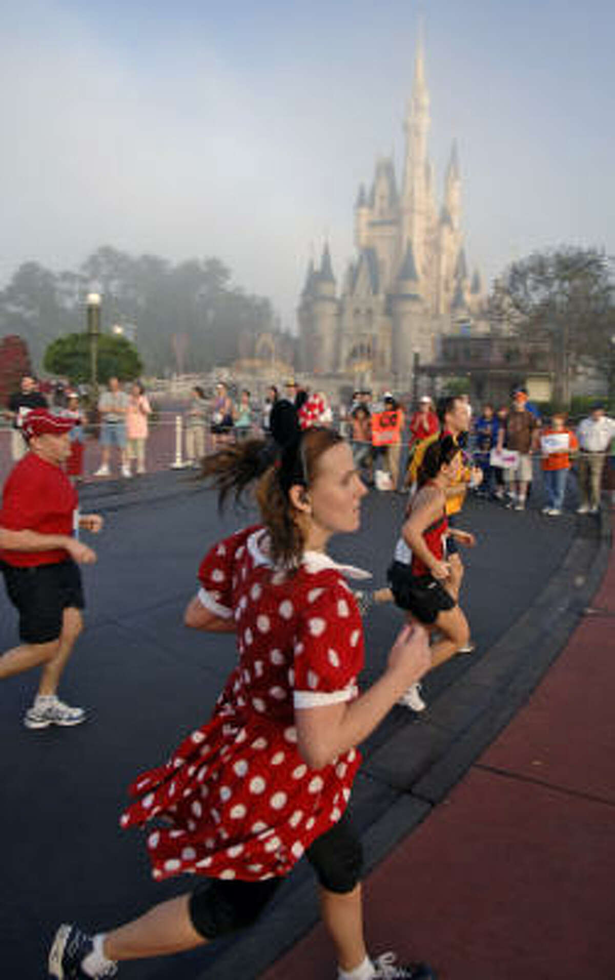 It's 26.2 miles of magic as distance runners of all ages - and outfits - celebrate Walt Disney World Marathon Weekend.