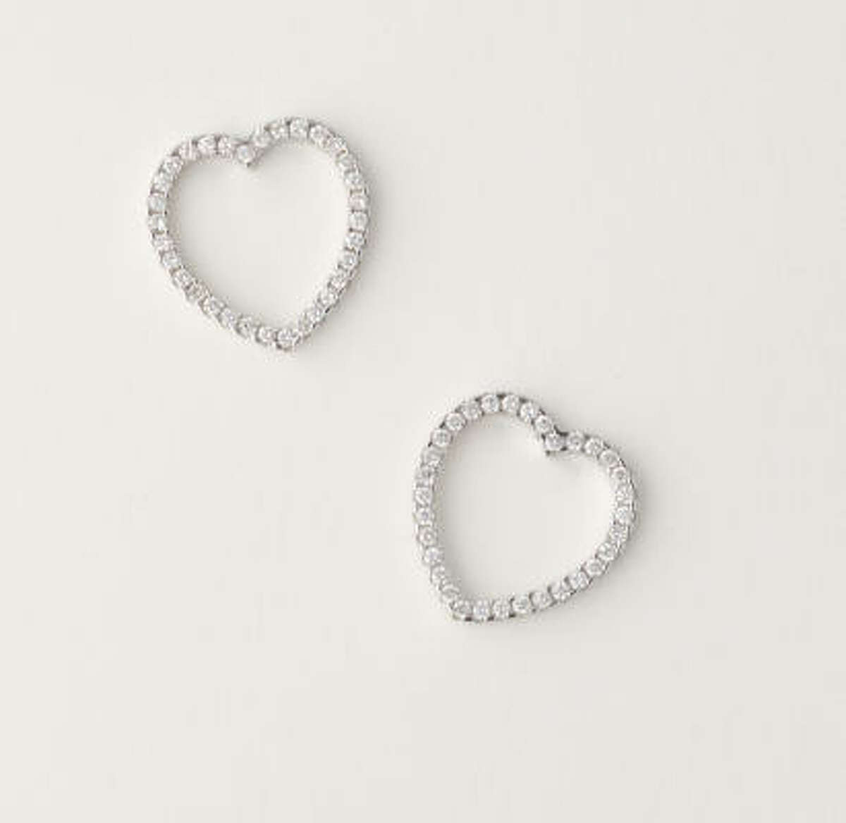 Earrings are good gift for a new relationship.