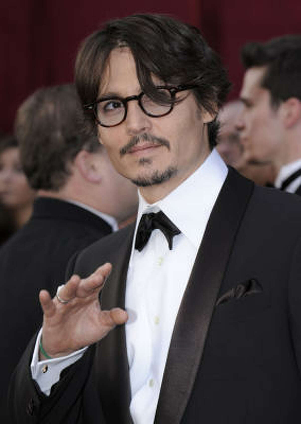 2. Johnny Depp scored a 9.89.