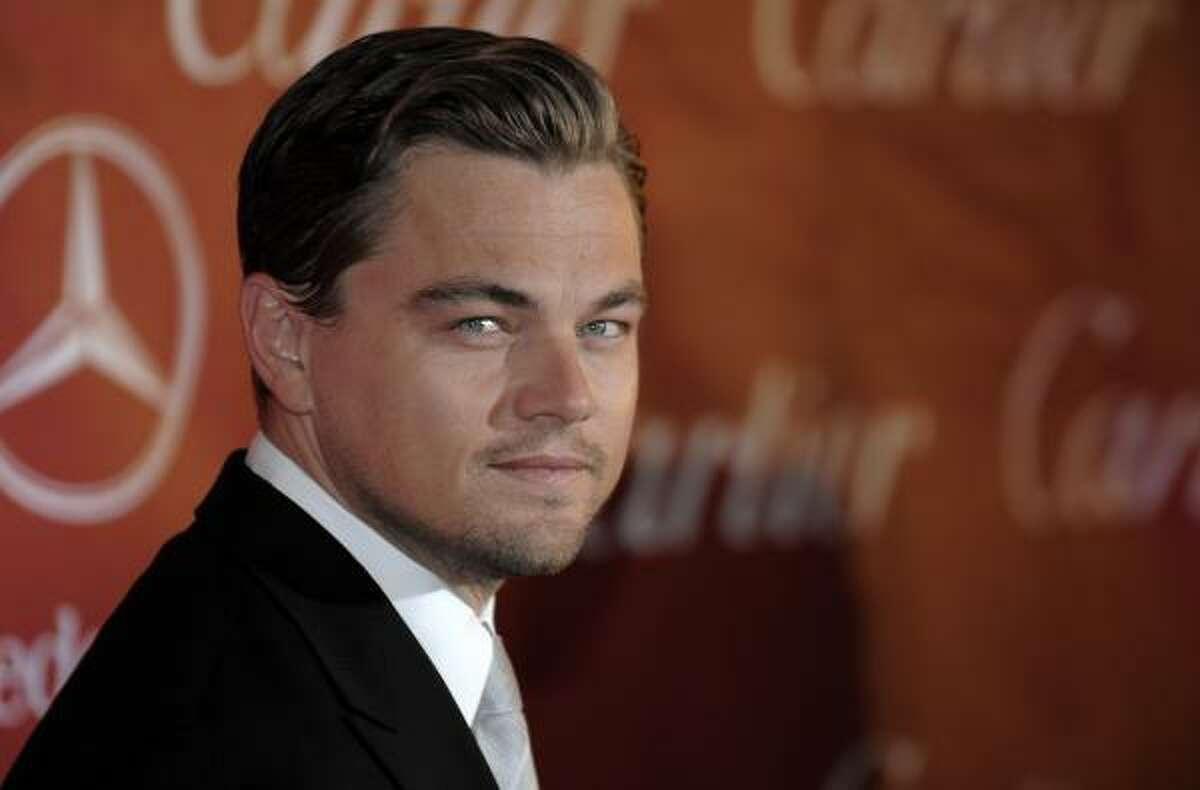 3. Leonardo DiCaprio scored a 9.89.