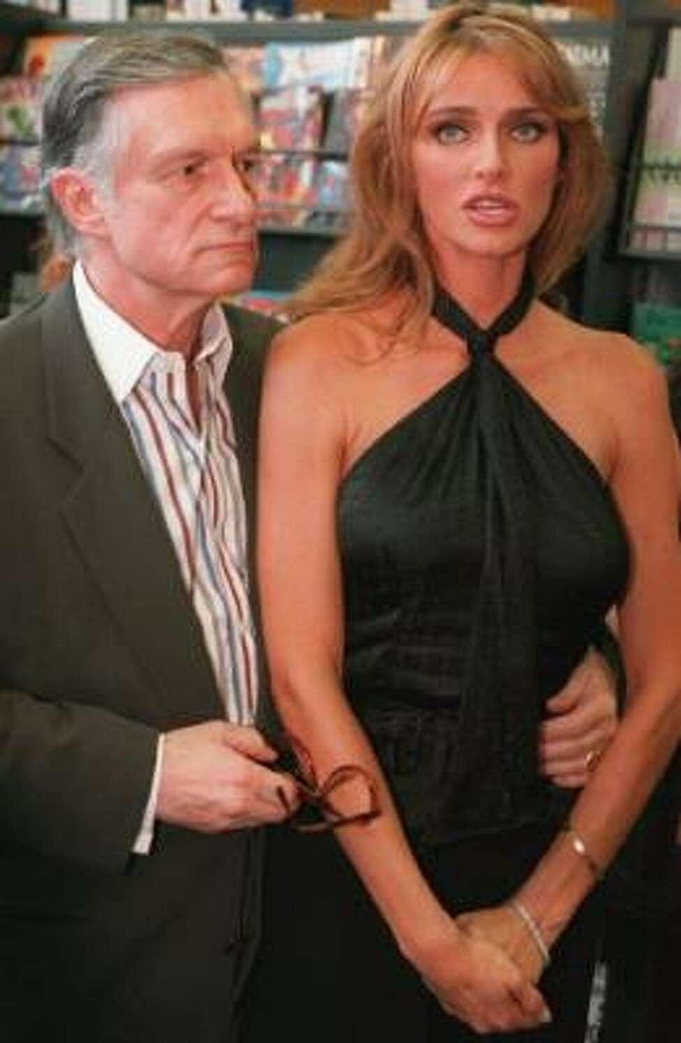 Heartbreak at the Playboy Mansion - Hef Kicks His Twin ... |Hugh Hefner Twin Girlfriends