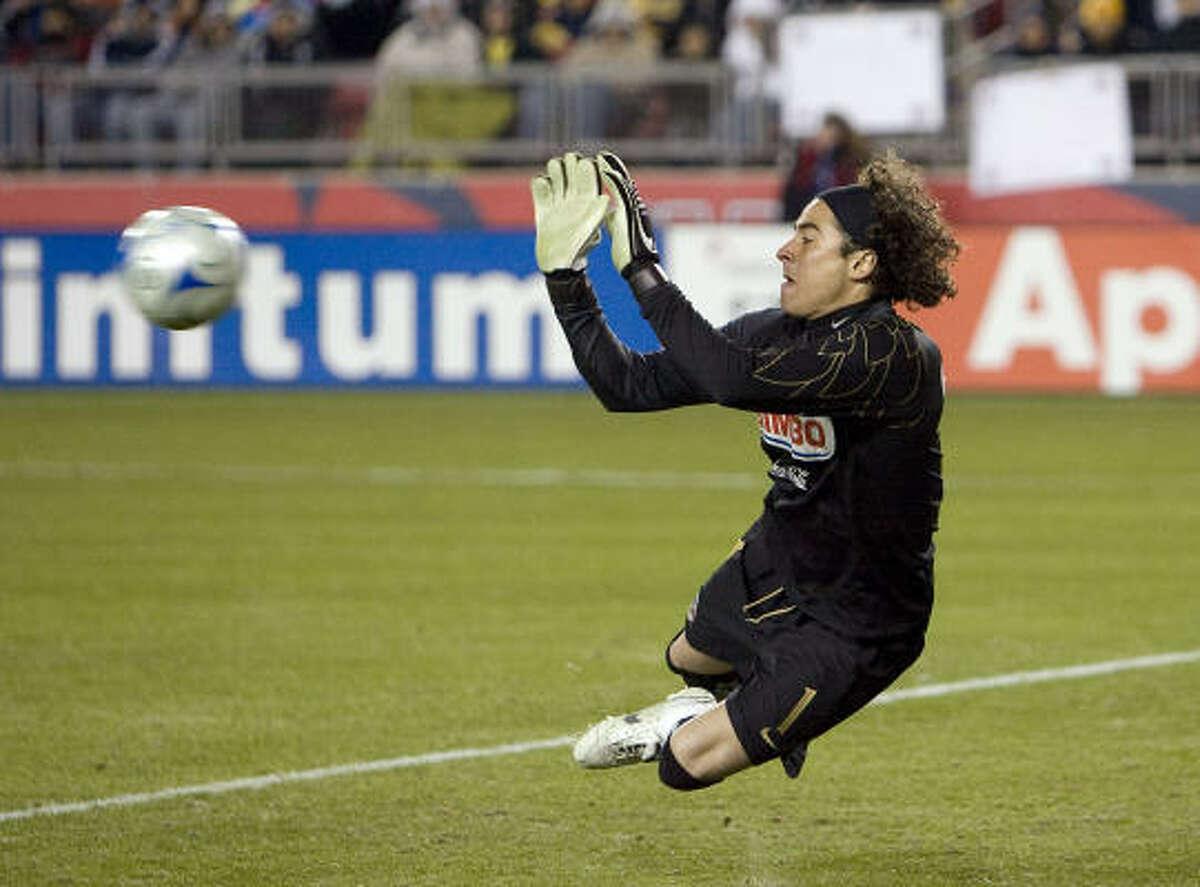 Goalkeeper: Guillermo Ochoa Club: America