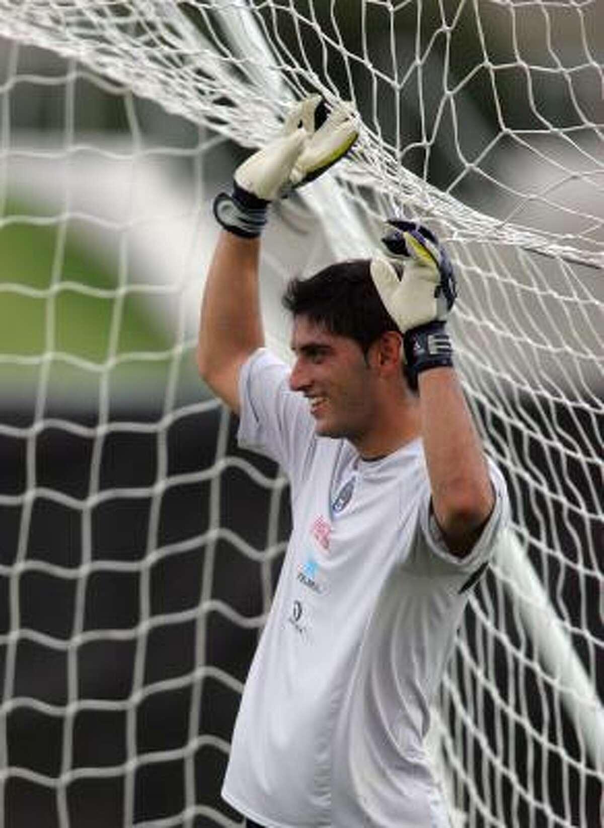 Goalkeeper: Jose de Jesus Corona Club: Tecos