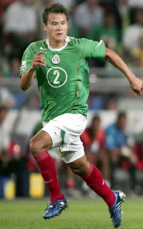 Defender:Aaron Galindo Club: Guadalajara Photo: MICHAEL SOHN, AP