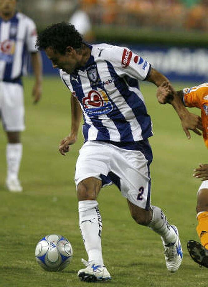 Defender:Leobardo Lopez Club: Pachuca Photo: Leonardo Carrizo, Houston Chronicle