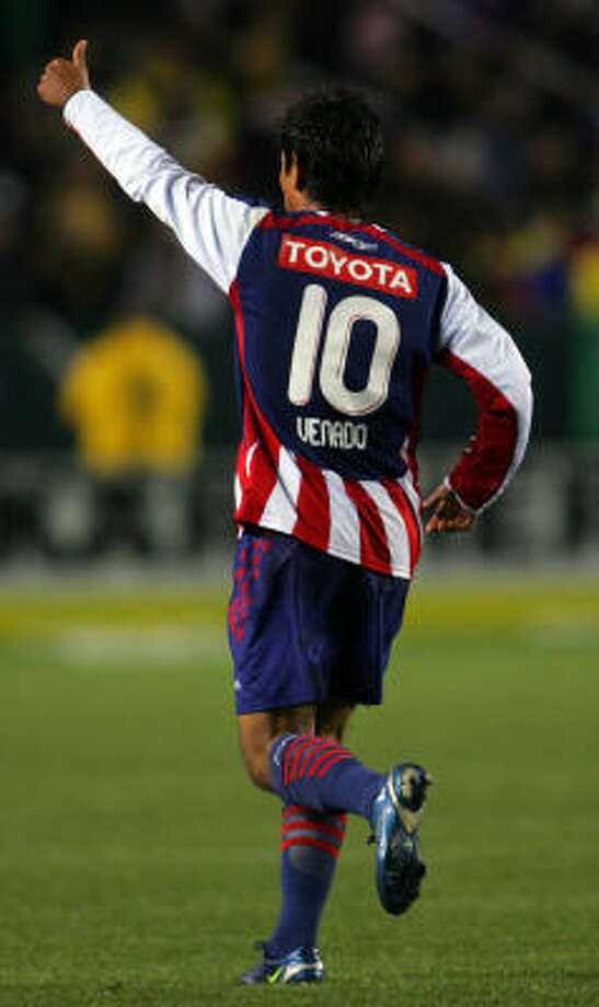 Forward:Alberto Medina Club: Guadalajara Photo: Victor Decolongon, Getty Images