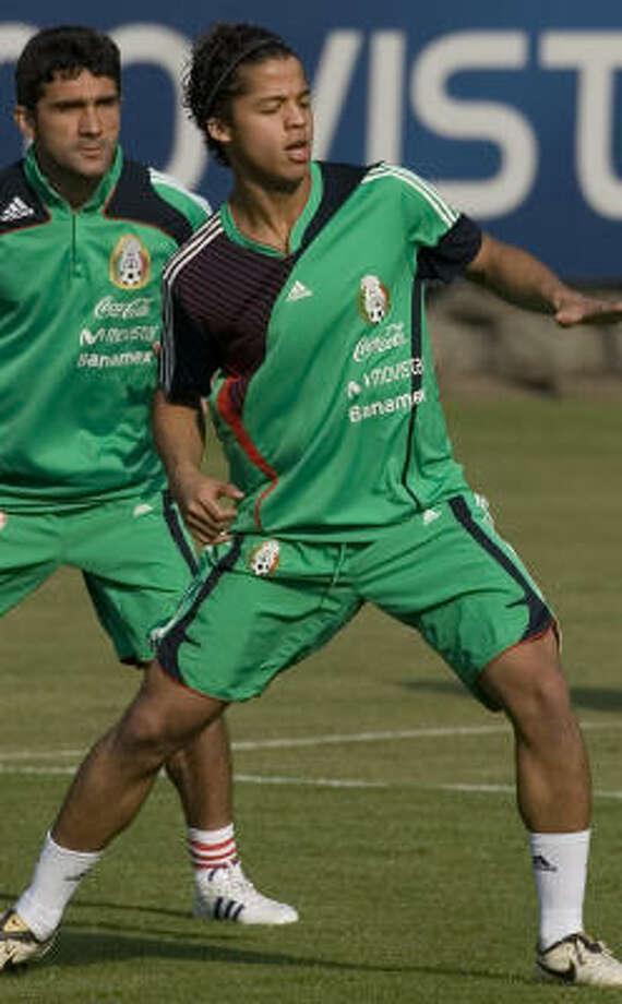 Forward:Giovanni dos Santos Club: Tottenham Hotspur Photo: Eduardo Verdugo, AP