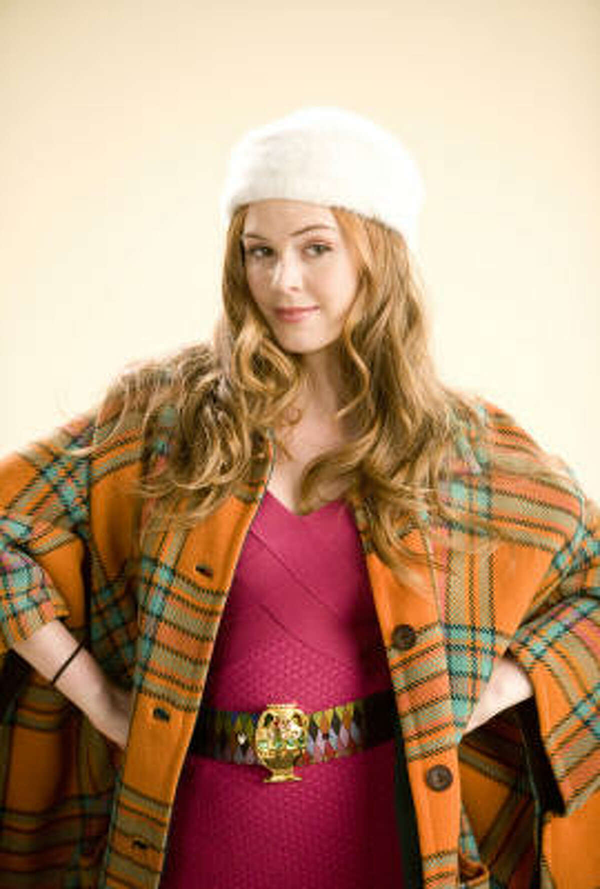 Costume designer Patricia Field created the stylish outfits for Isla Fisher in Confessions of a Shopaholic.