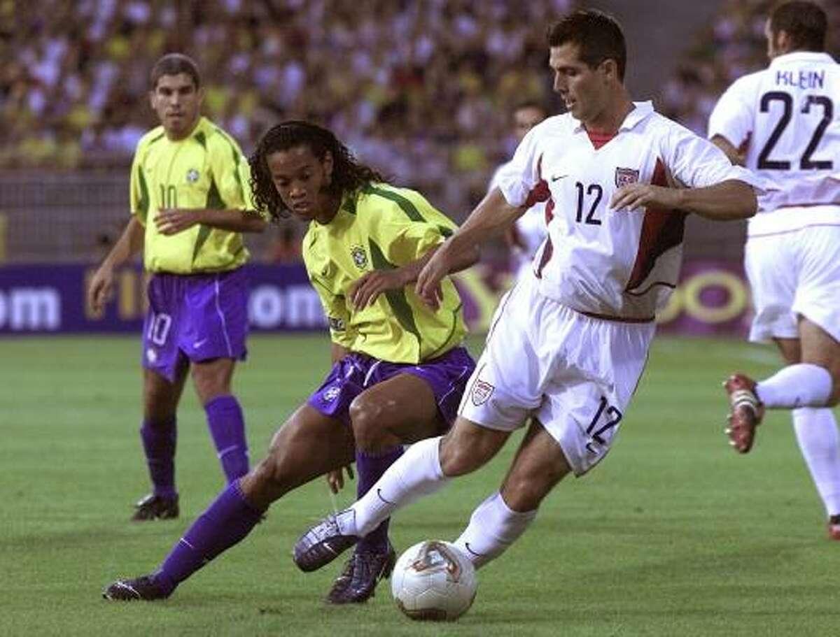 Defender: Carlos Bocanegra Club: Stade Rennais (France) Career Caps: 62 Bocanegra is a defender who can attack. He has 10 goals for the national team.