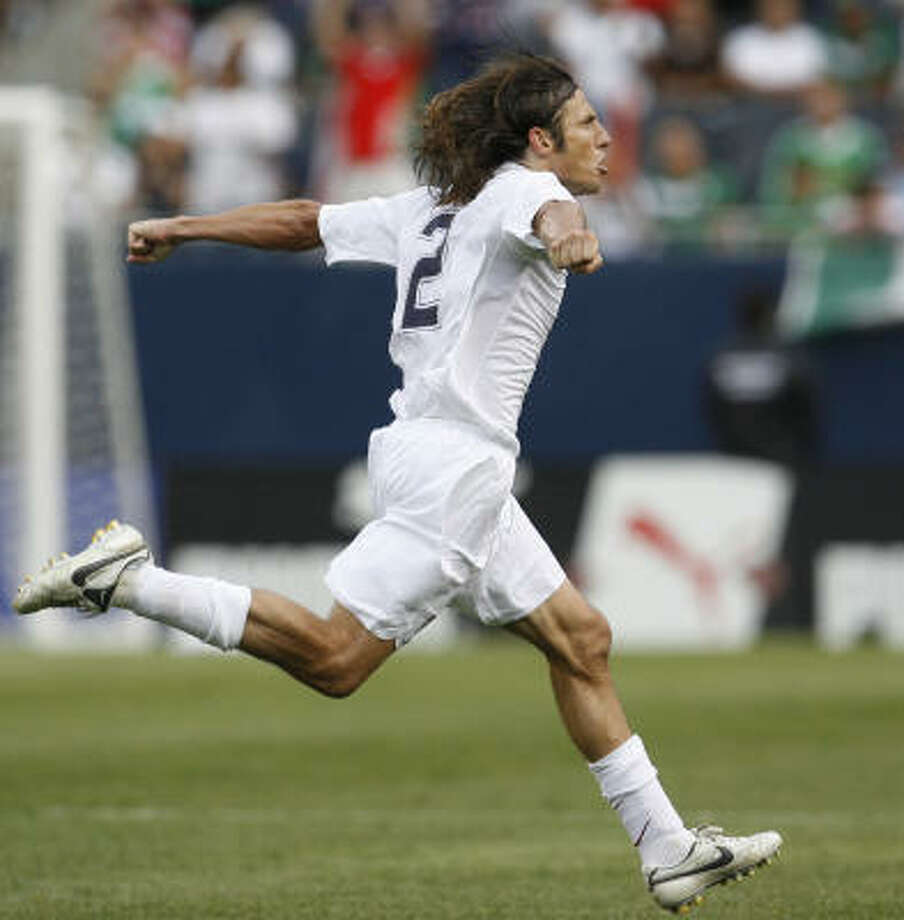 Defender:Frankie Hejduk Club: Columbus Crew Career Caps:  81 The national team veteran has found the net six times and brings experience to the back line. Photo: Nam Y. Huh, AP