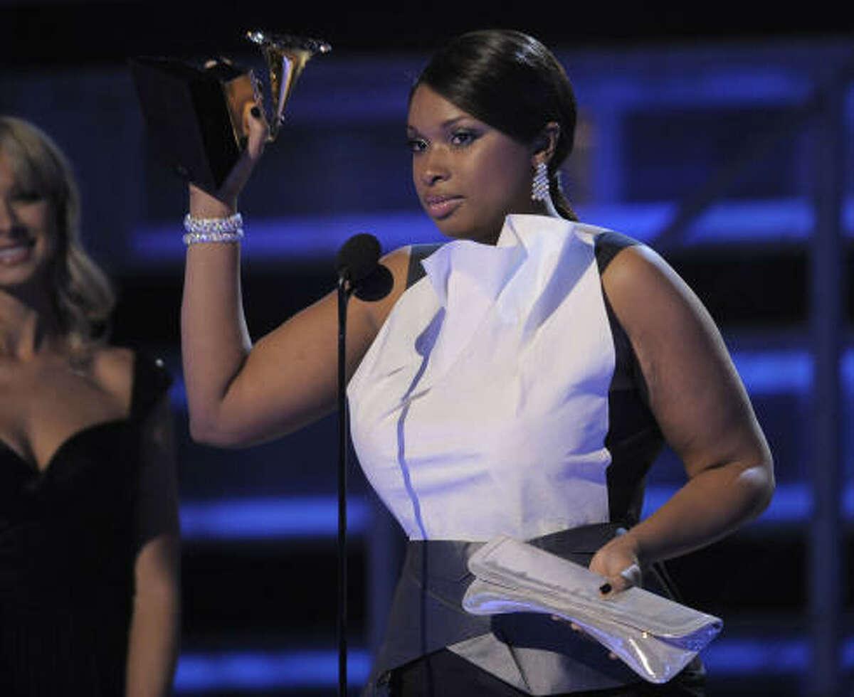 Best R&B album: Jennifer Hudson