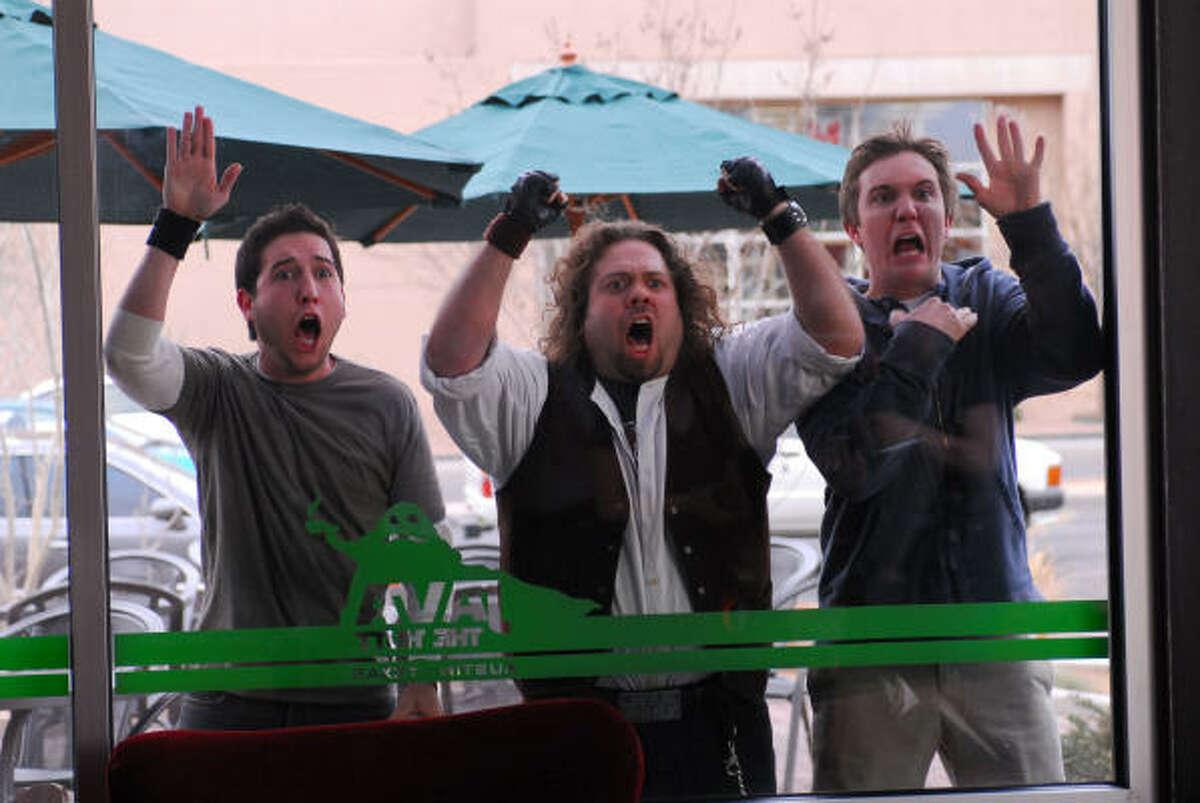 Chris Marquette, Dan Fogler and Sam Huntington star in Kyle Newman's Fanboys.
