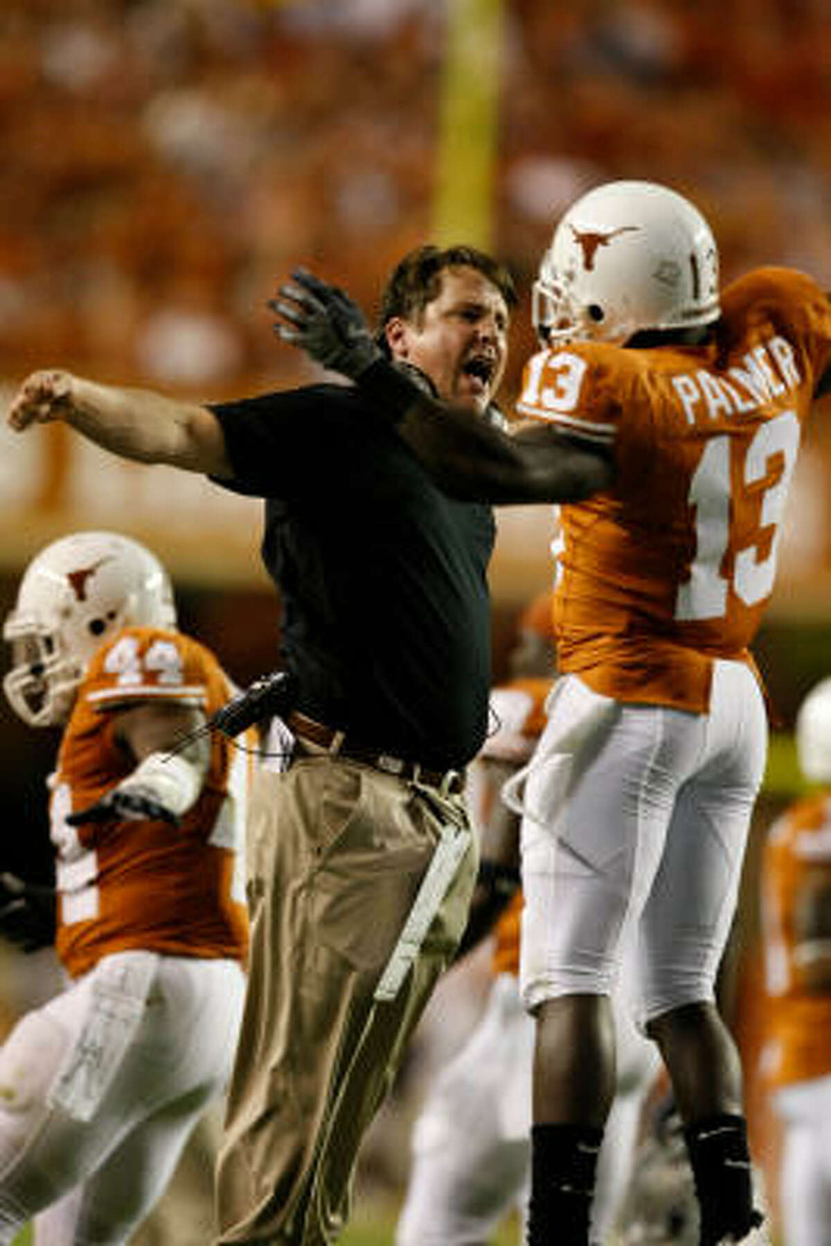 University of Texas defensive coordinator Will Muschamp was named the successor to Mack Brown at the end of the 2008 season. Muschamp has a guaranteed five-year deal that will pay him $2 million annually when he takes over the Longhorns.