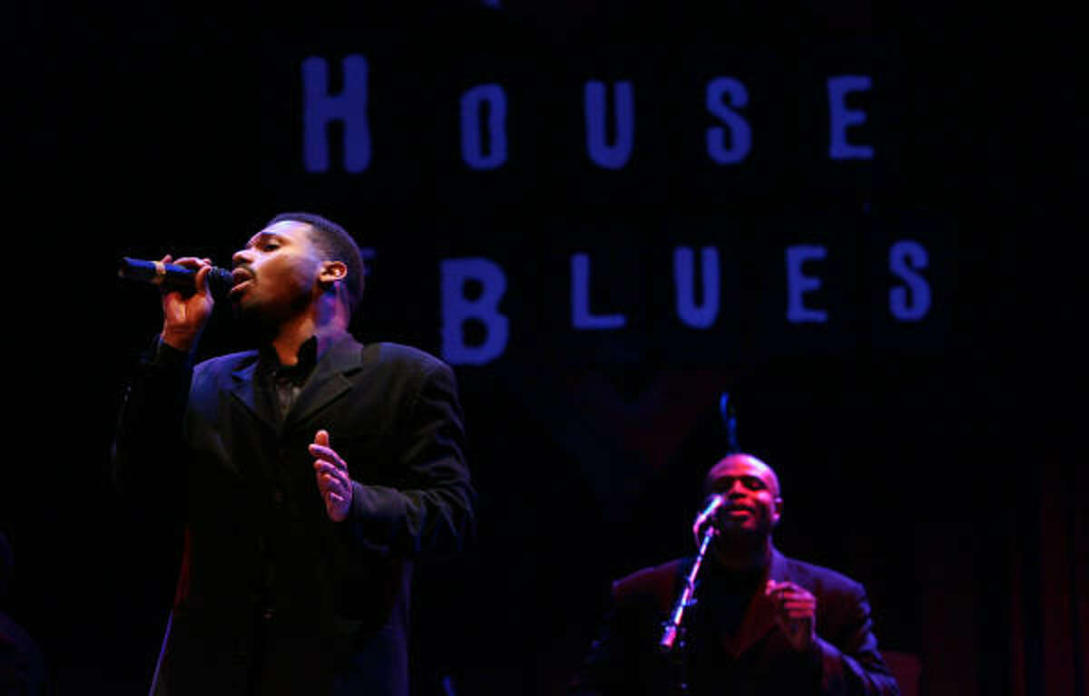 The Hensley Ensemble performs during The House of Blues Gospel Brunch.