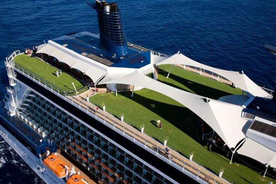 The Solstice is Celebrity's newest ship. Photo: Michel Verdure