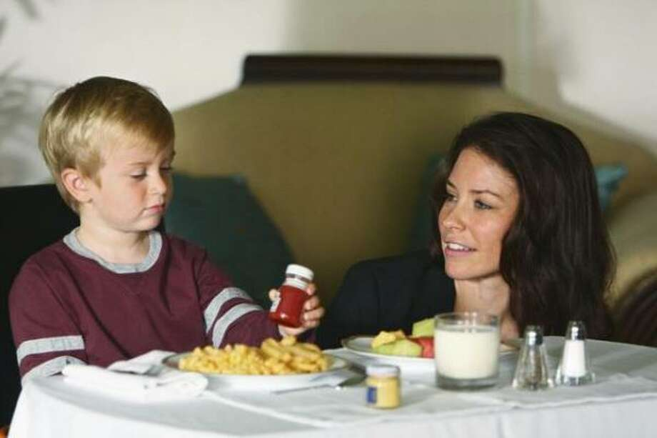 Kate discovers that someone knows the secret of Aaron's true parental lineage. Photo: Abc