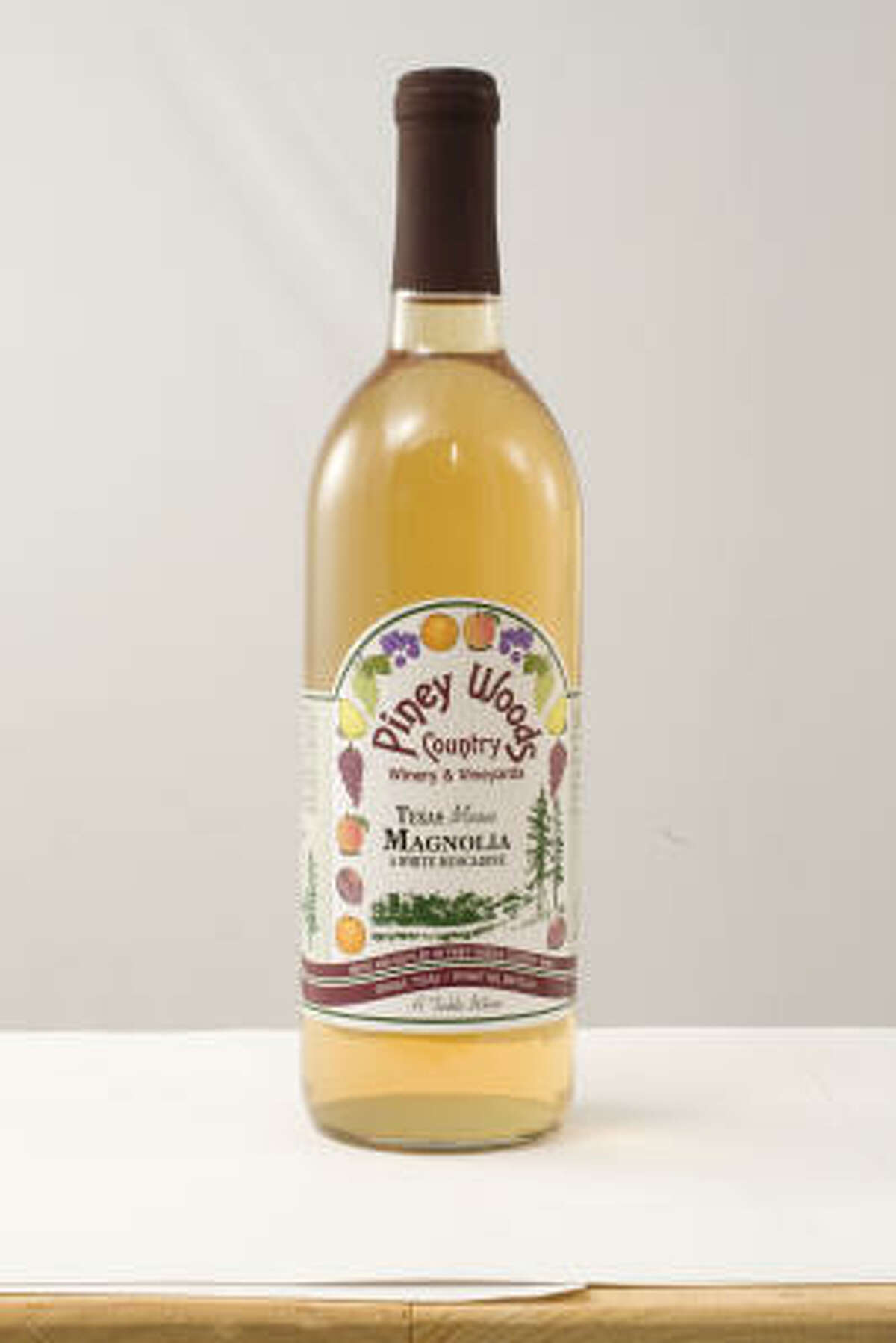 Top Texas Wine: Piney Woods Texas Moon Magnolia (non-vintage).