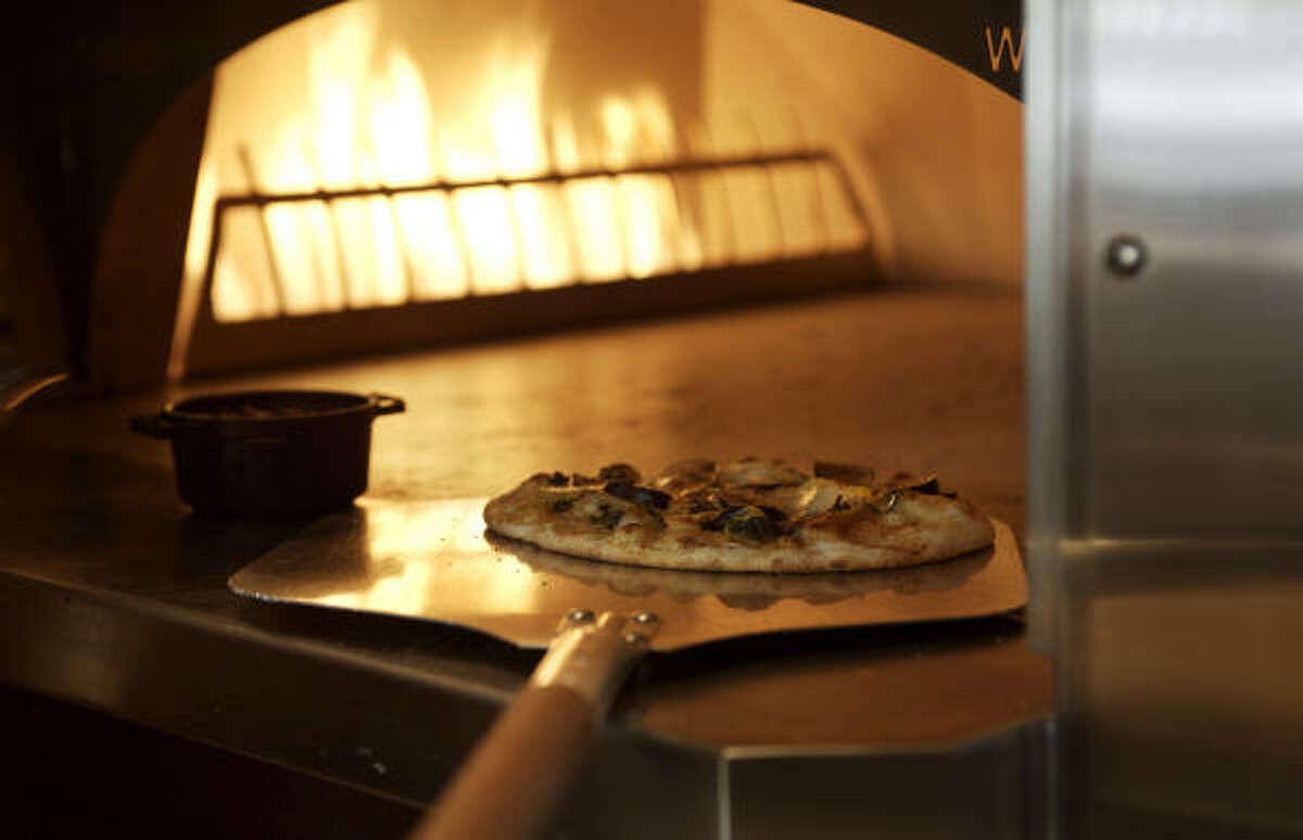 The pizza oven at Ubuntu.