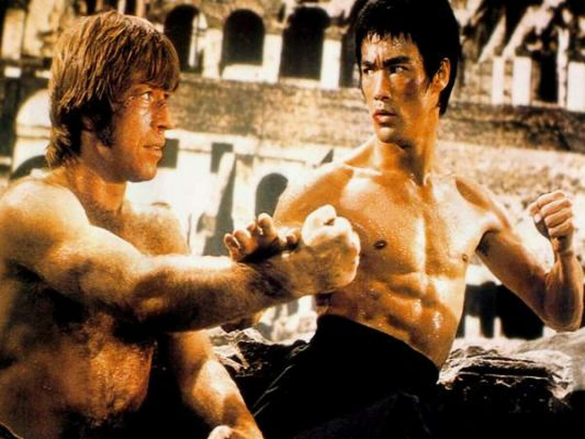 Return of the Dragon (1973) Tagline: MAN, CAN WE USE HIM NOW! Bruce Lee is back in the fantastic all new adventures of the Super Hero from