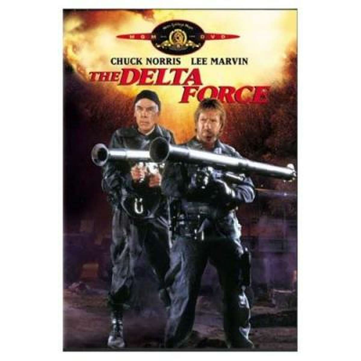 The Delta Force (1986) Tagline: They don't negotiate with terrorists... they blow them away!