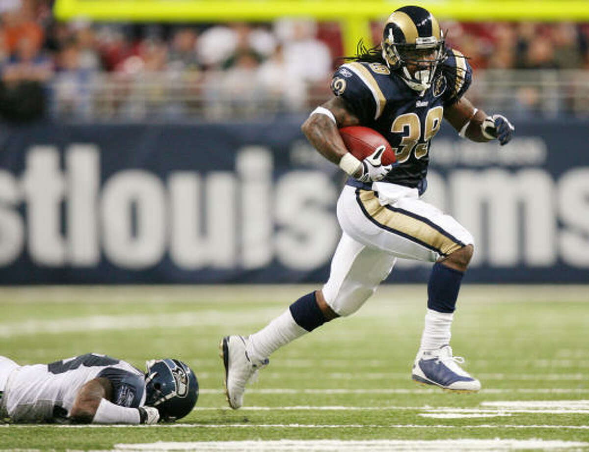 29 (tied). St. Louis Rams Odds: 75-1 2008 regular-season record: 2-14 Impact player: running back Steven Jackson