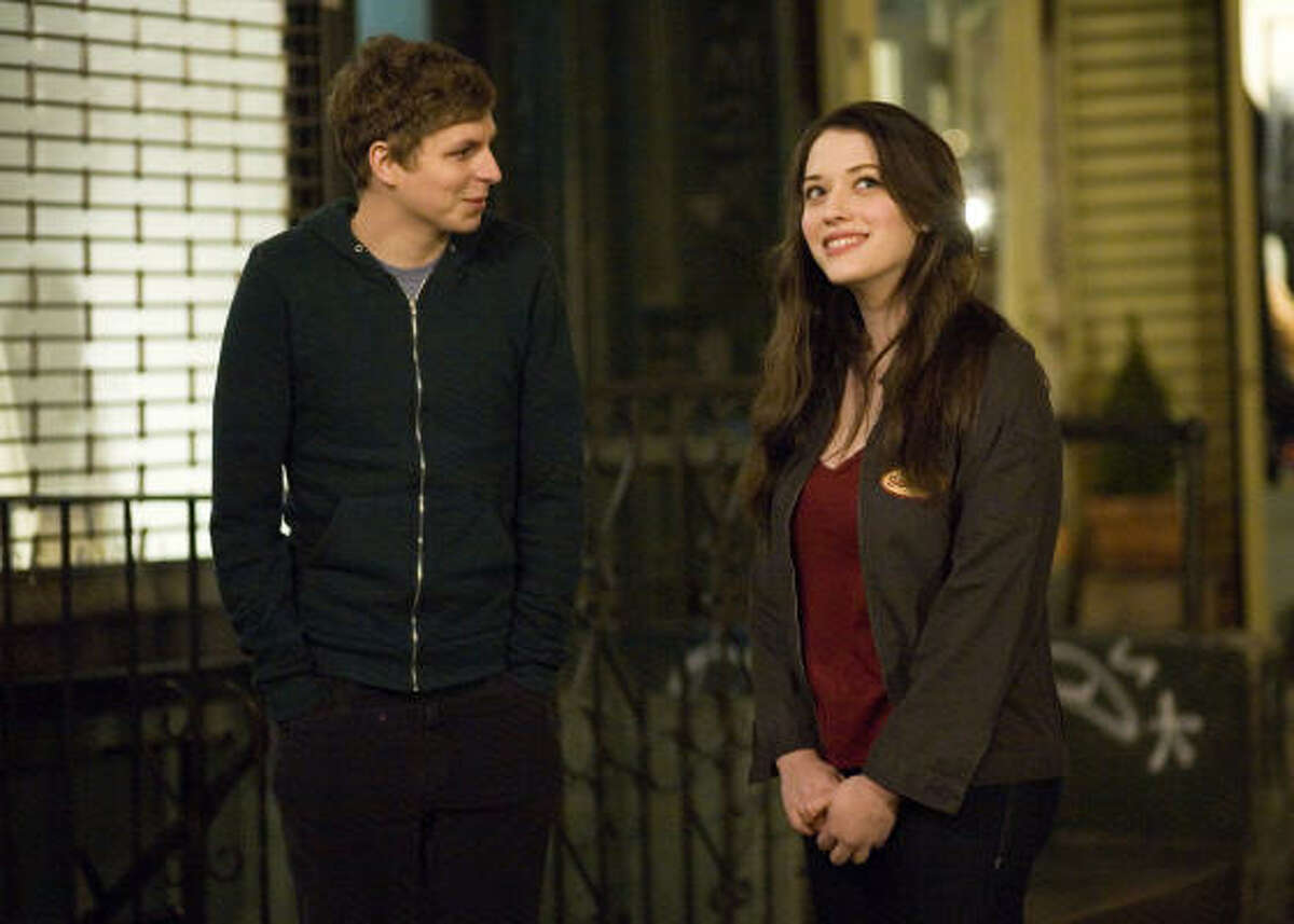 Nick (Michael Cera) and Norah (Kat Dennings) star in Nick & Norah's Infinite Playlist.