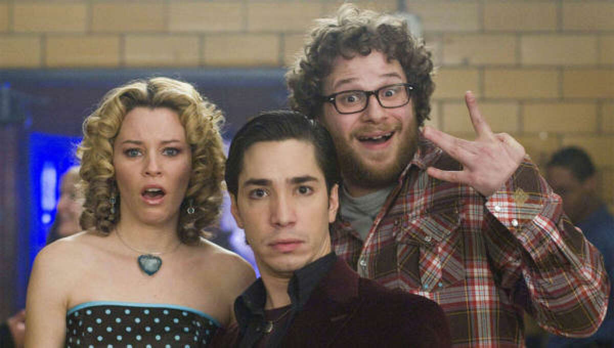 Elizabeth Banks, Seth Rogen and Justin Long (center) in Zack and Miri Make a Porno.