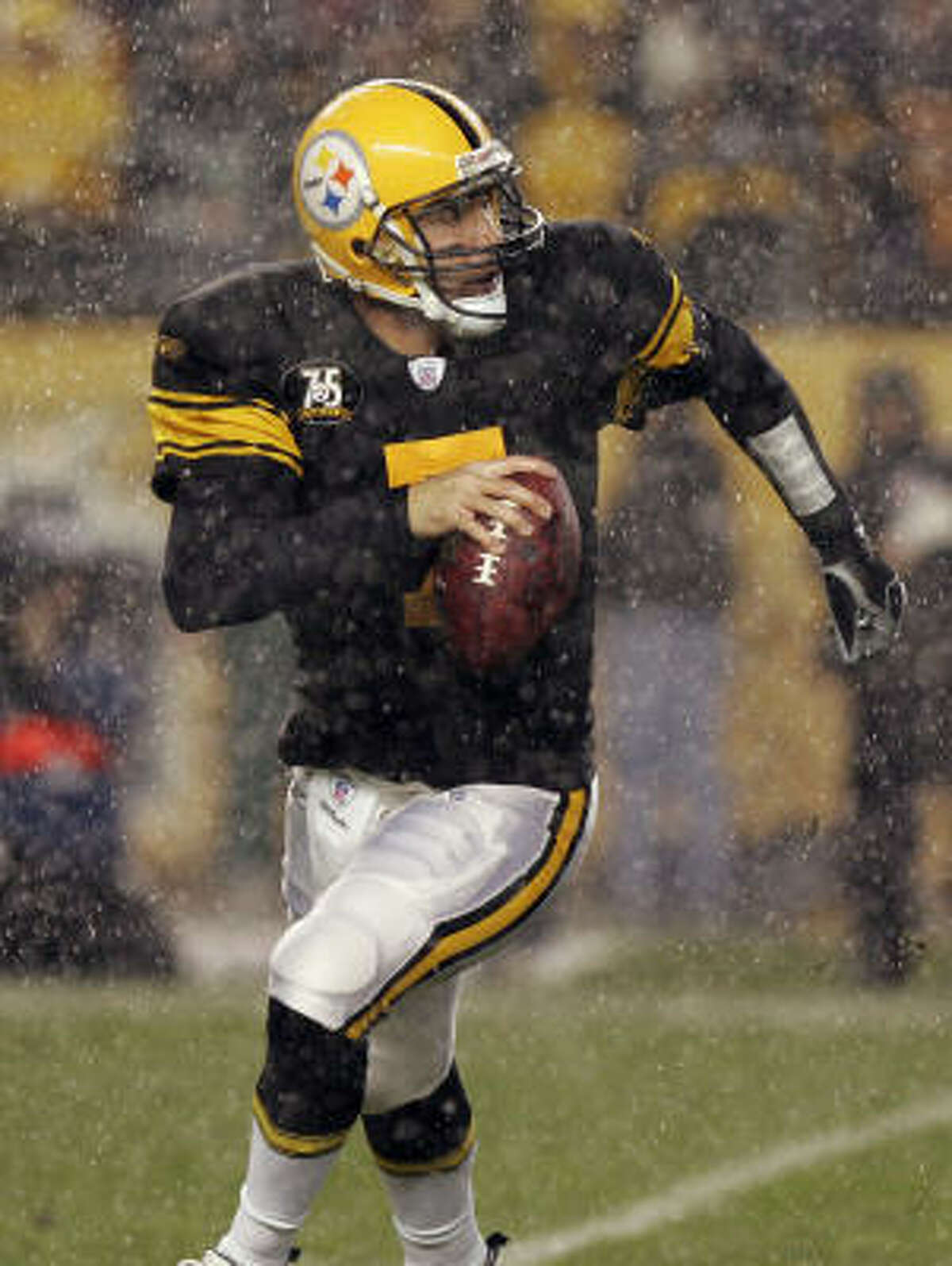 2007 : Ben Roethlisberger started 15 games for the Steelers and was sacked 47 times that season. They finished with a 10-6 record and lost the wild-card game to the Jacksonville Jaguars.