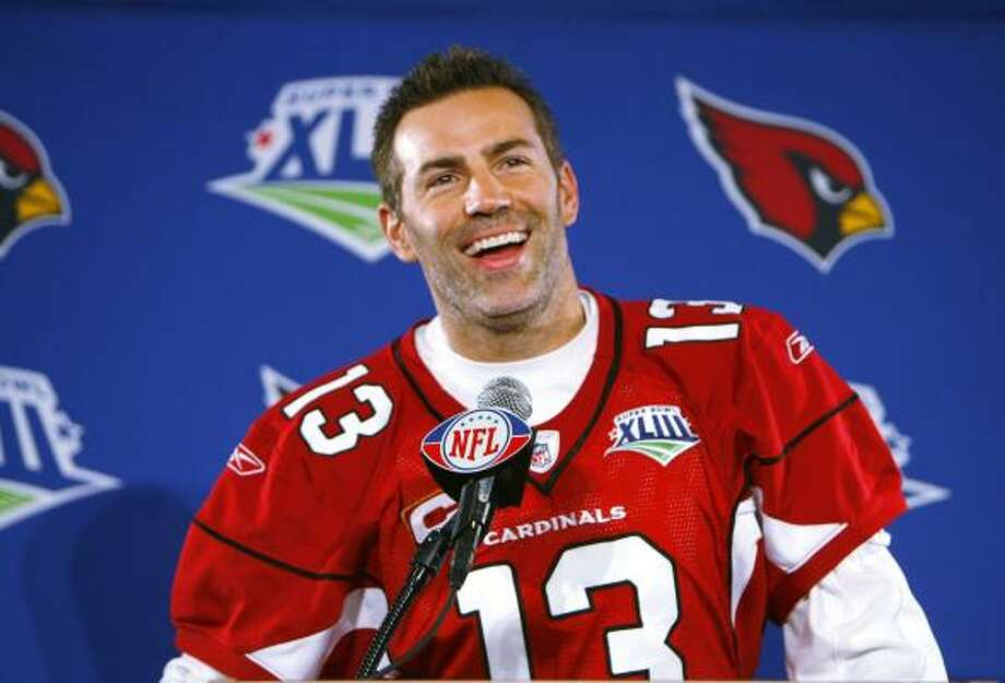 In the 2008 season, Quarterback Kurt Warner started all sixteen games for the Arizona Cardinals. He finished the season with a 96.9 passer rating and a trip to the Super Bowl after a 9-7 regular season. Photo: David Kadlubowski, AP