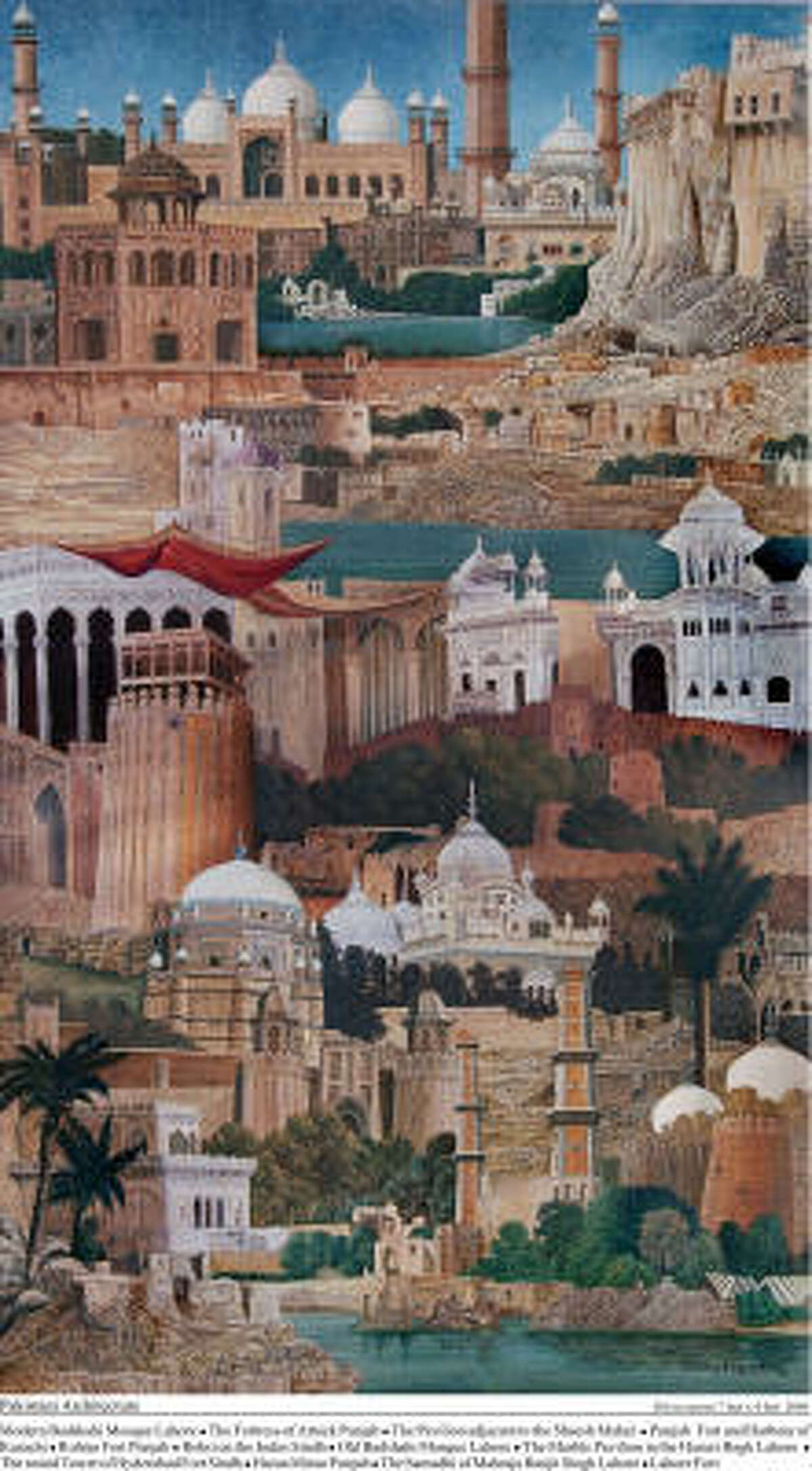 From his series of architecture paintings